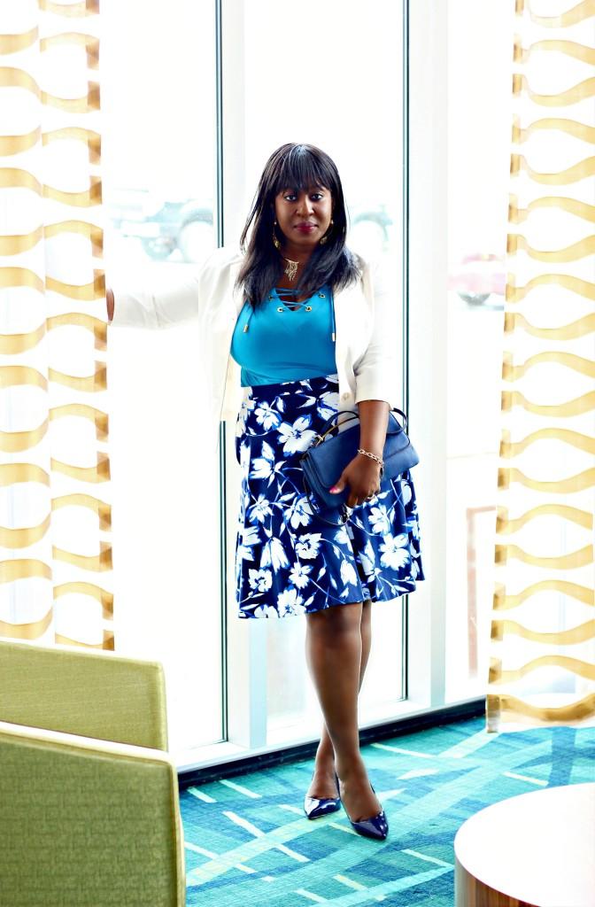 Blue-floral-spring-skirt 5
