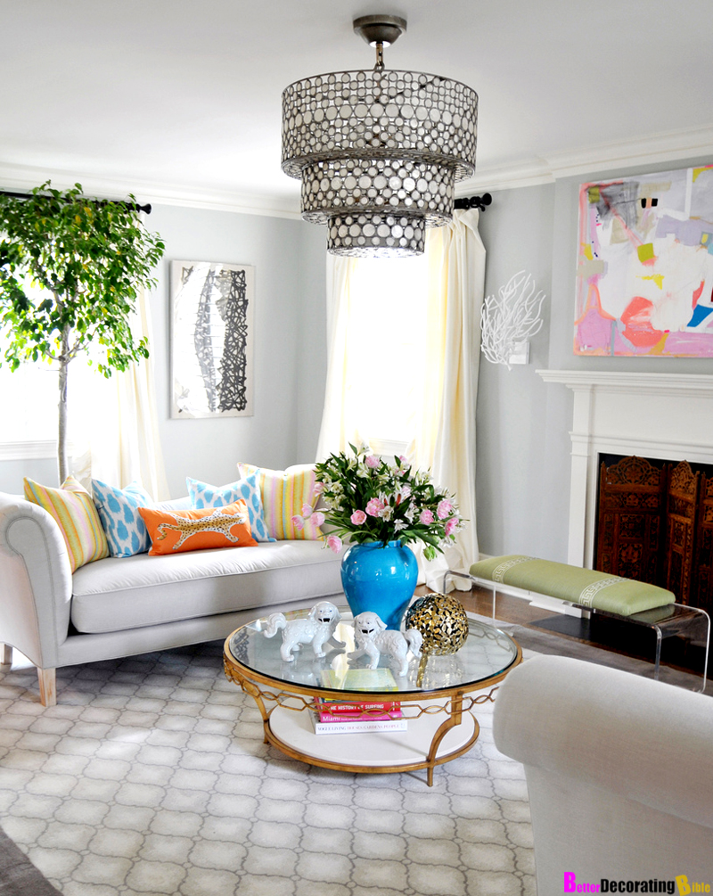 Spring Living Room Decorating Ideas. Latest Springdecor With Spring ...