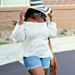 Off- The- Shoulder Top & Shorts