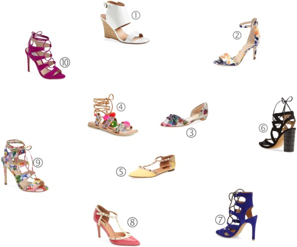 Editor's Picks | Glam Summer Sandals