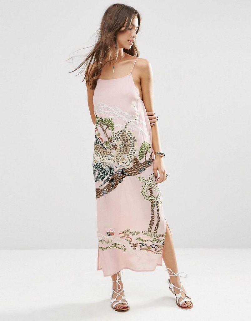 maxi dress lyst