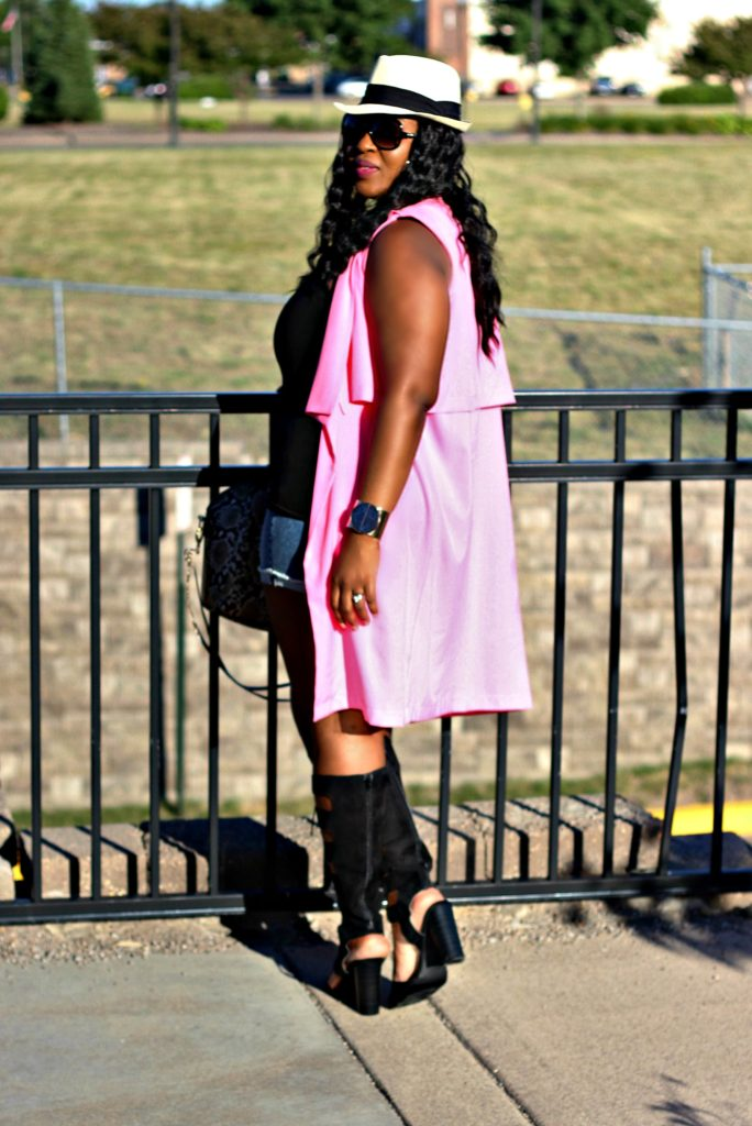 beautiful-pink-vest- and jeans -and -lace -up-gladiators-shoes 8
