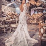 Have you seen the amazing dress Eniko Parrish wore to marry Kevin Hart?