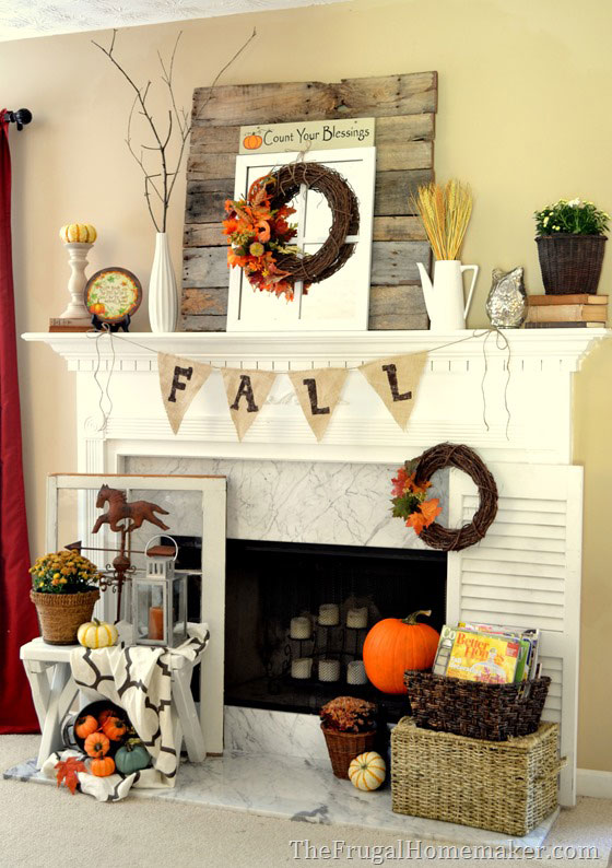 Decorate Your Fireplace Mantel: Mantel Décor Ideas! - Hypnoz Glam