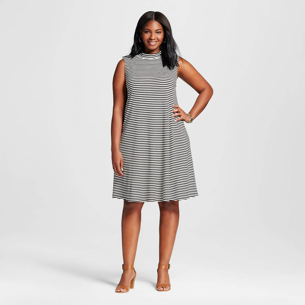 target-stripe-fall-dress