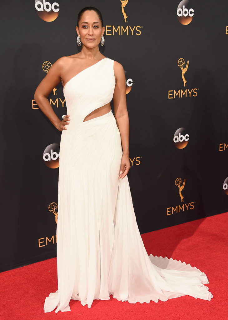 LOS ANGELES, CA - SEPTEMBER 18: Actress Tracee Ellis Ross attends the 68th Annual Primetime Emmy Awards at Microsoft Theater on September 18, 2016 in Los Angeles, California. (Photo by Kevin Mazur/WireImage)