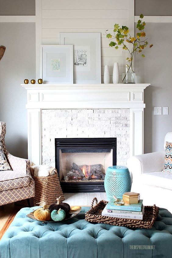 Mantel Decorating Ideas For The Holidays: Decorate Your Fireplace Mantel: Mantel Décor Ideas