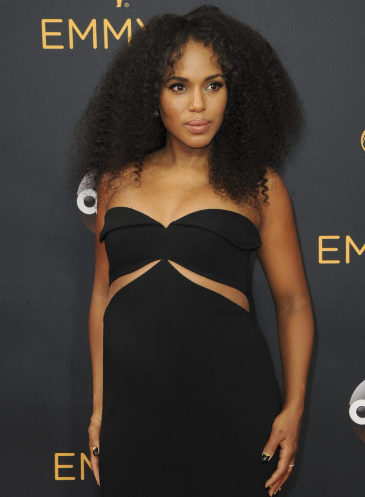The 68th Annual Primetime Emmy Awards arrivals Featuring: Kerry Washington Where: Los Angeles, California, United States When: 19 Sep 2016 Credit: Apega/WENN.com