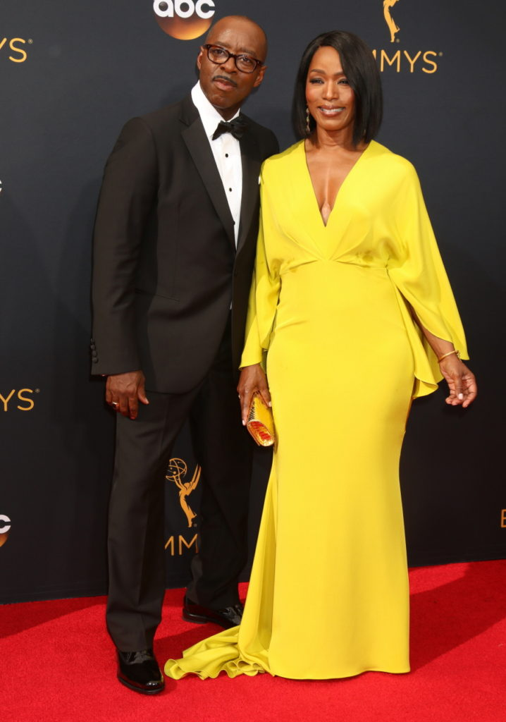 2016 Primetime Emmy Awards - Arrivals at the Microsoft Theater on September 18, 2016 in Los Angeles, CA Featuring: Courtney B. Vance, Angela Bassett Where: Los Angeles, California, United States When: 19 Sep 2016 Credit: Nicky Nelson/WENN.com