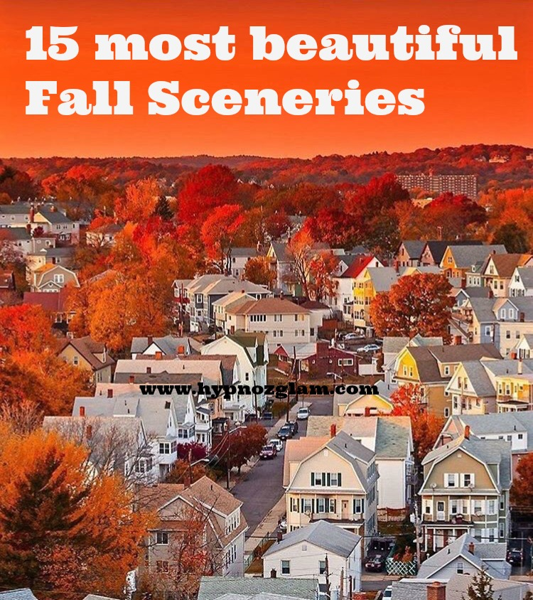 15 most beautiful fall sceneries