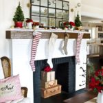 Beautiful Christmas Mantel Decor you will love