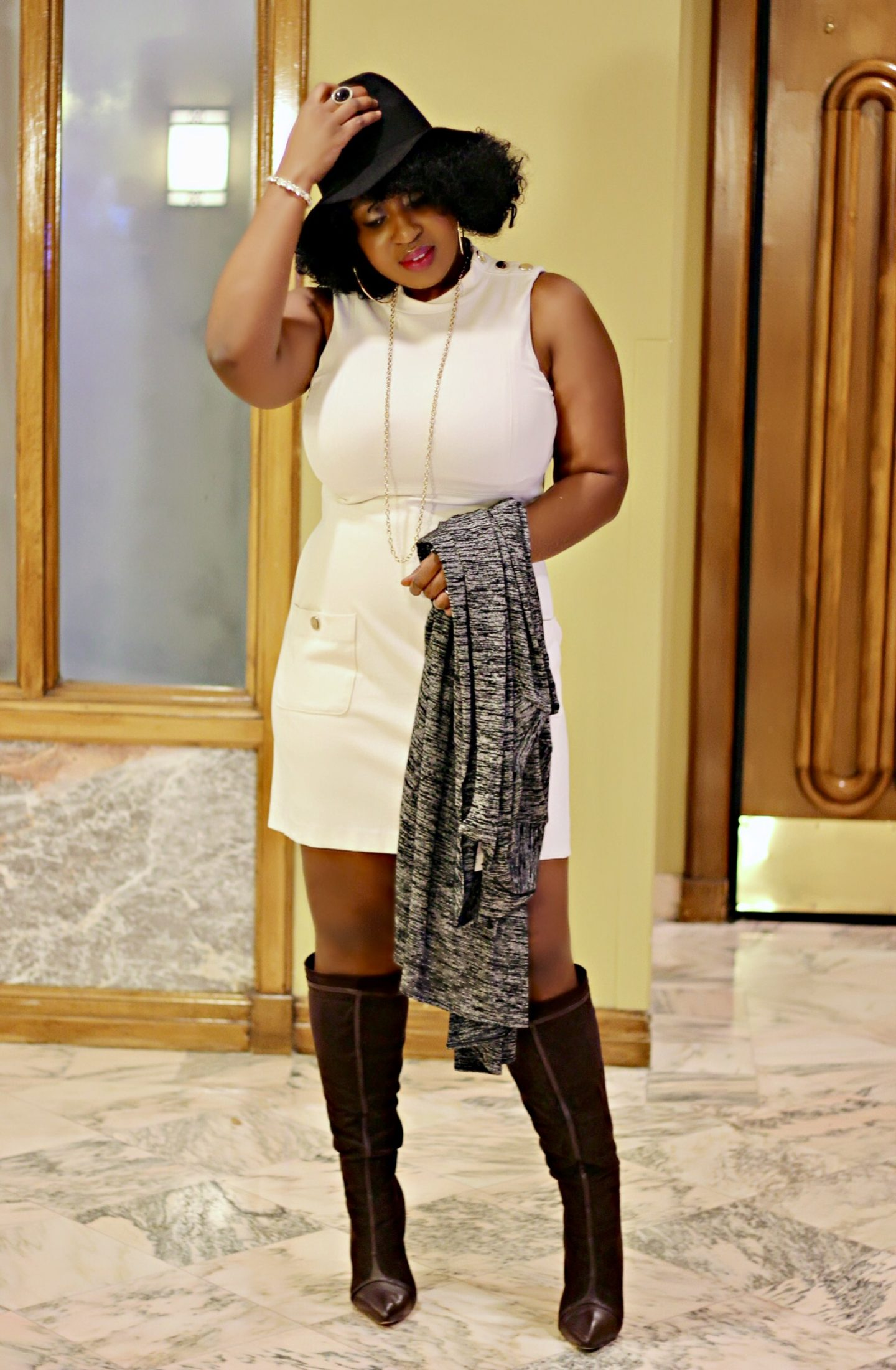 ootd-duster-boots-fedora-hypnozglam