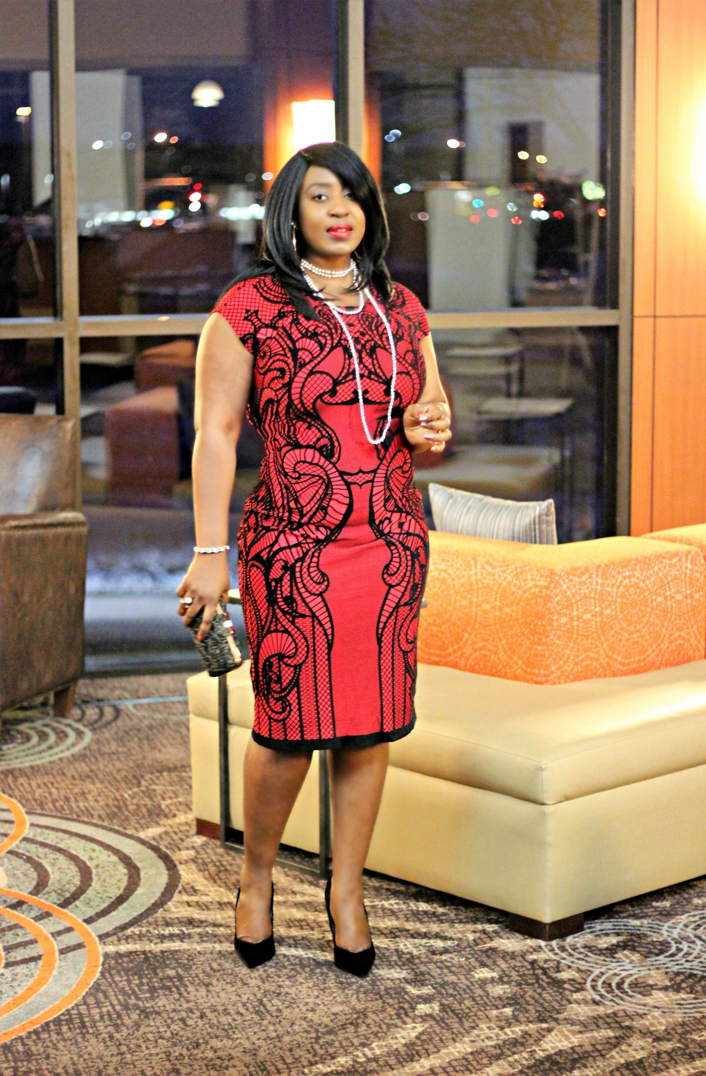 jcpenney-red-and-black-dress