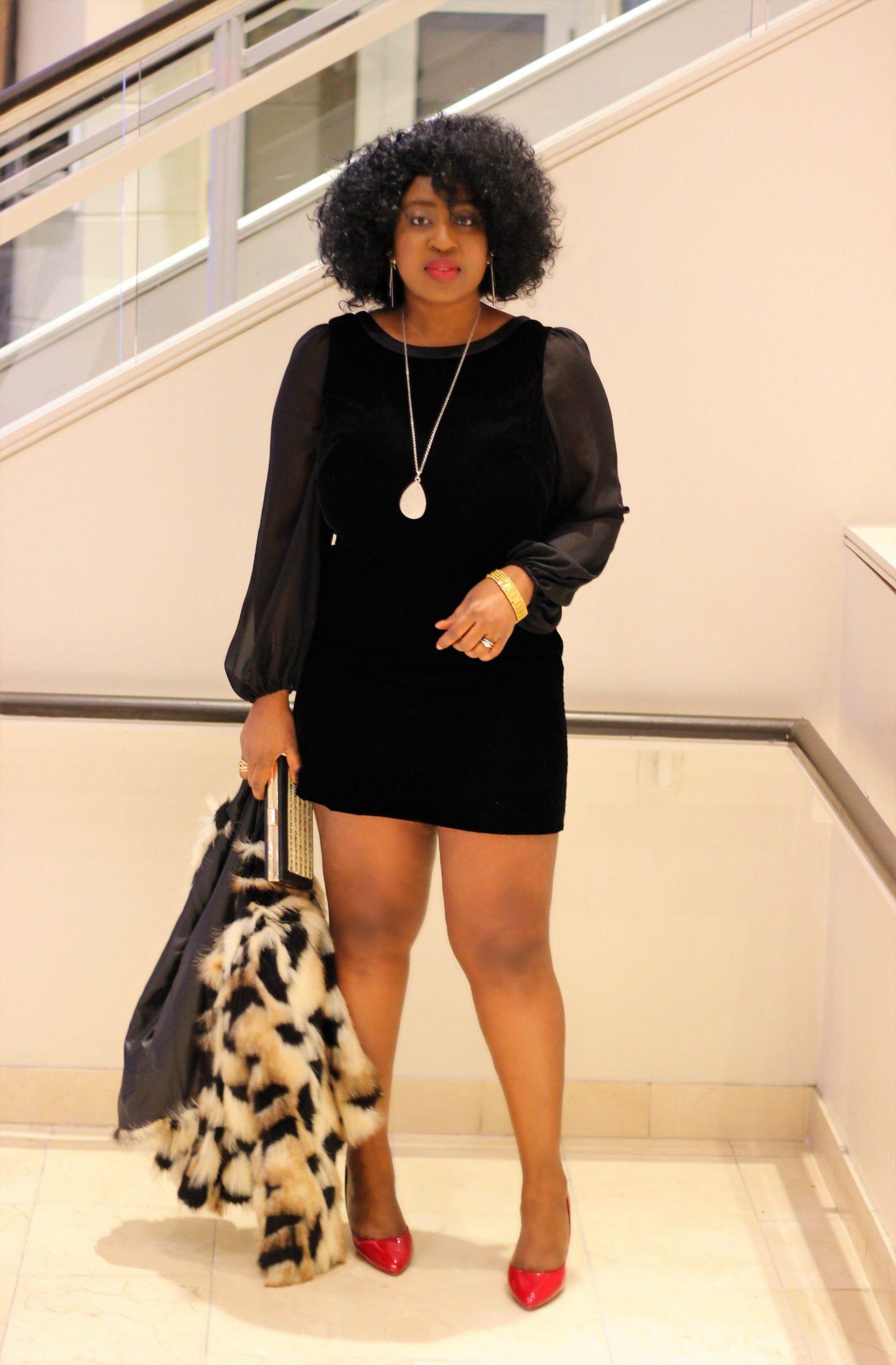 little-black-velvet-dress-faux-fur