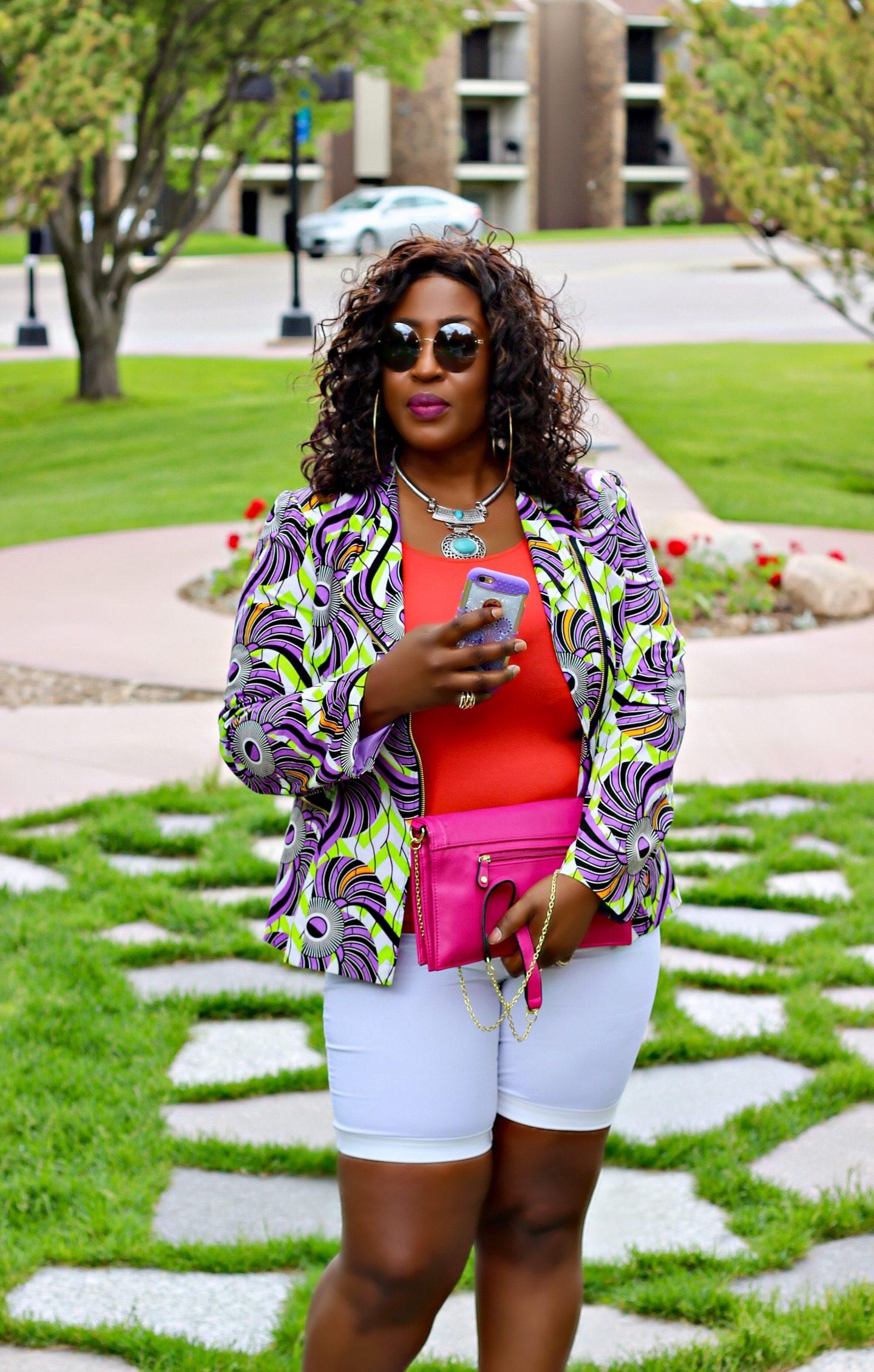 Believe-fashion-white-shortBeautiful-black-woman-ankara-summer-fashion