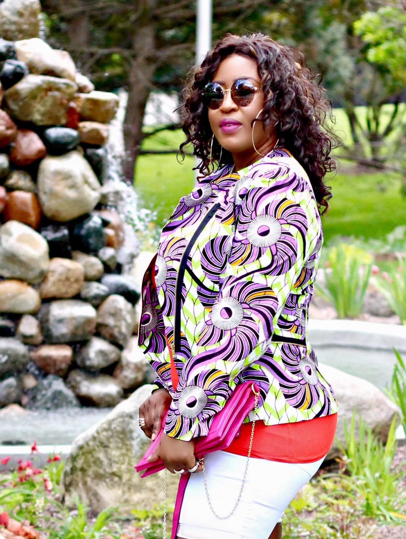 Beautiful-black-woman-ankara-summer-fashion
