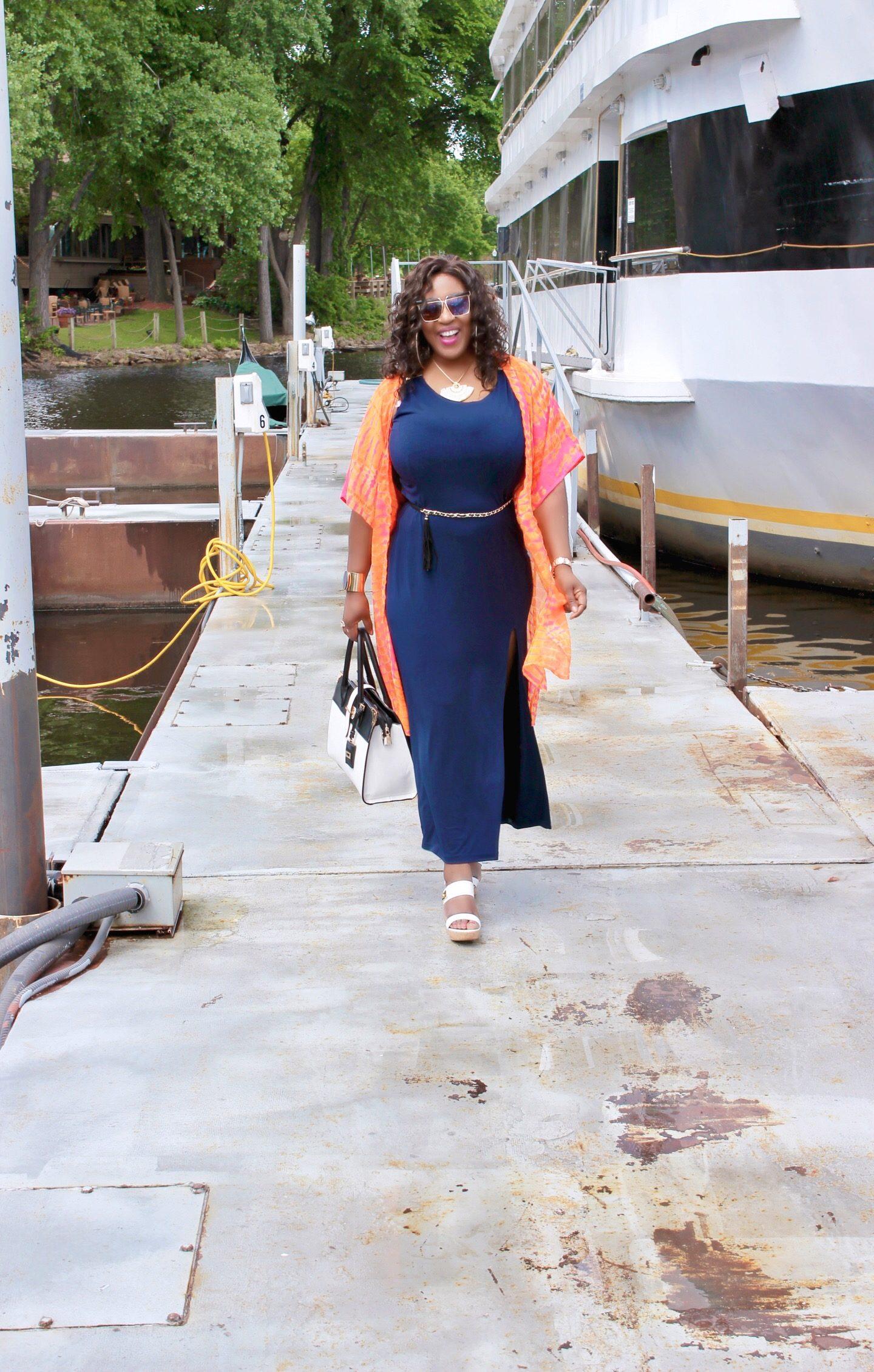 Summer-fashion-Dress-kimono