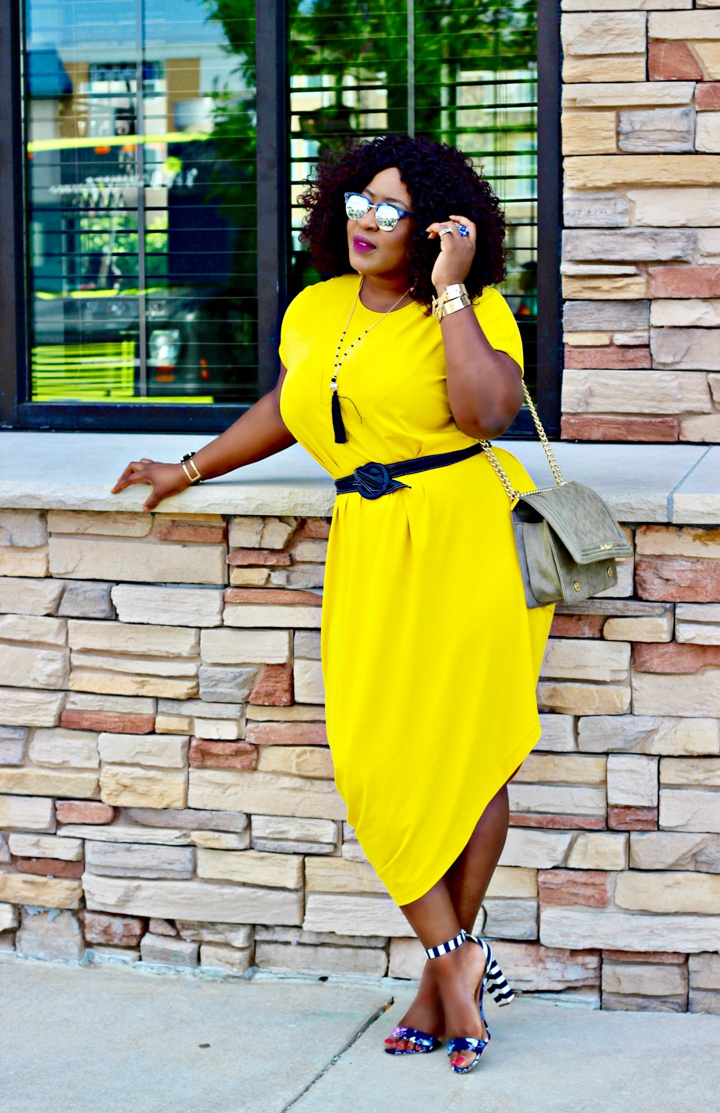 Geneva-yellow-asymmetric-dress
