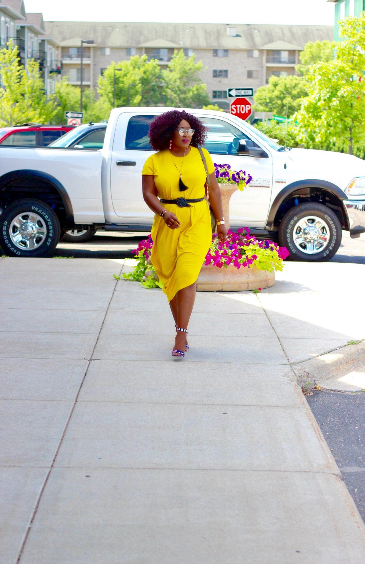 Mellow Yellow | The Geneva Dress