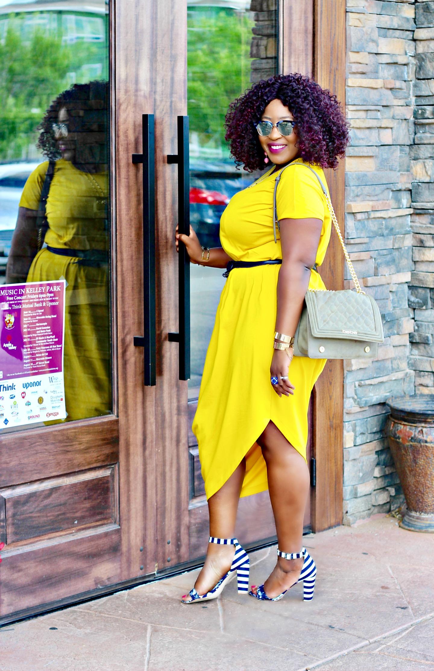 Mellow yellow the geneva dress hypnoz glam Modern fashion style definition
