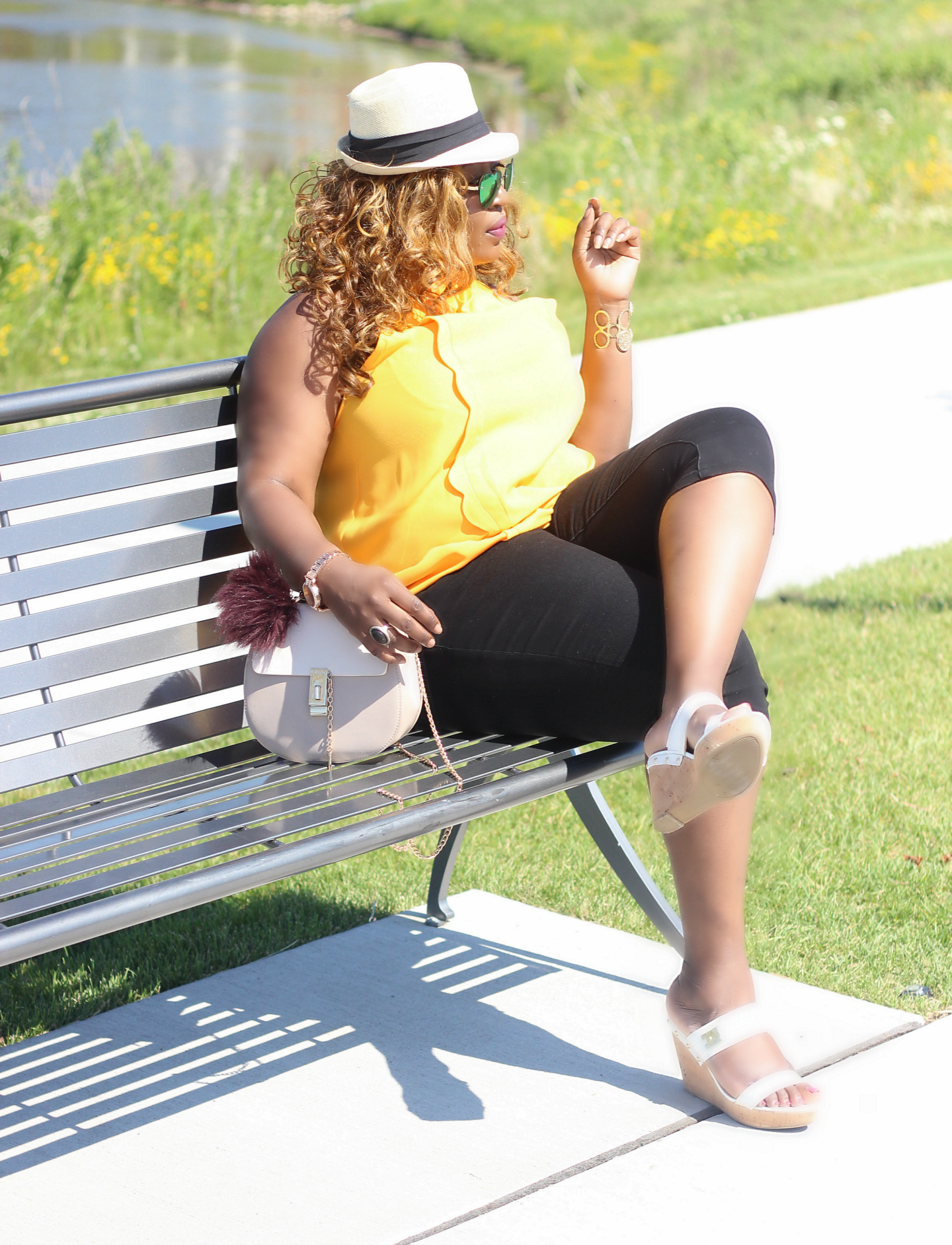 Summer-casual-top-and-capri