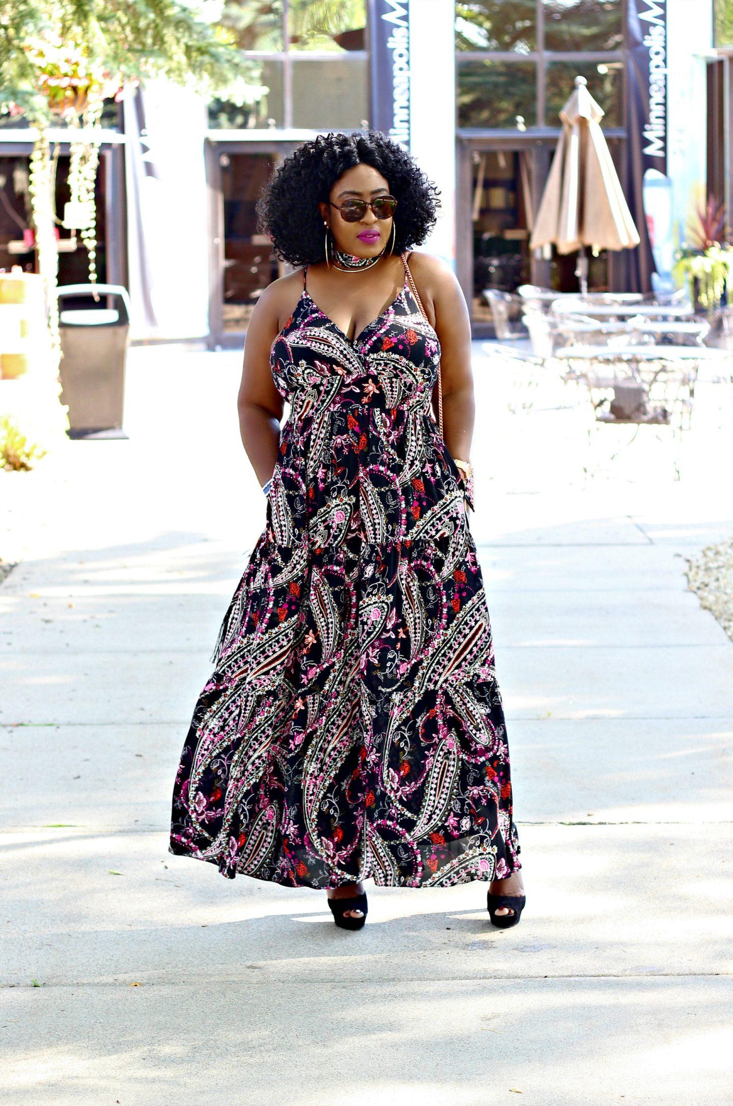 spaghetti-straps-prints-maxi-dress