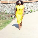 Mellow Yellow | The Geneva Dress On Repeat