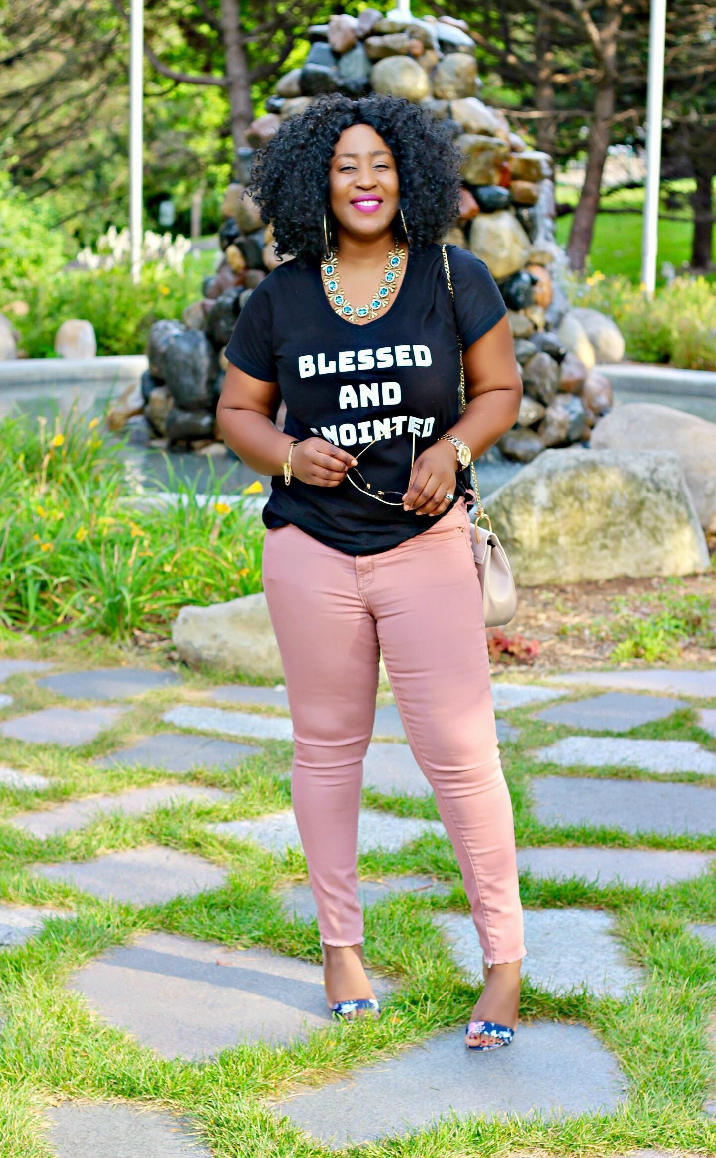 Blessed-and-anointed-tshirt