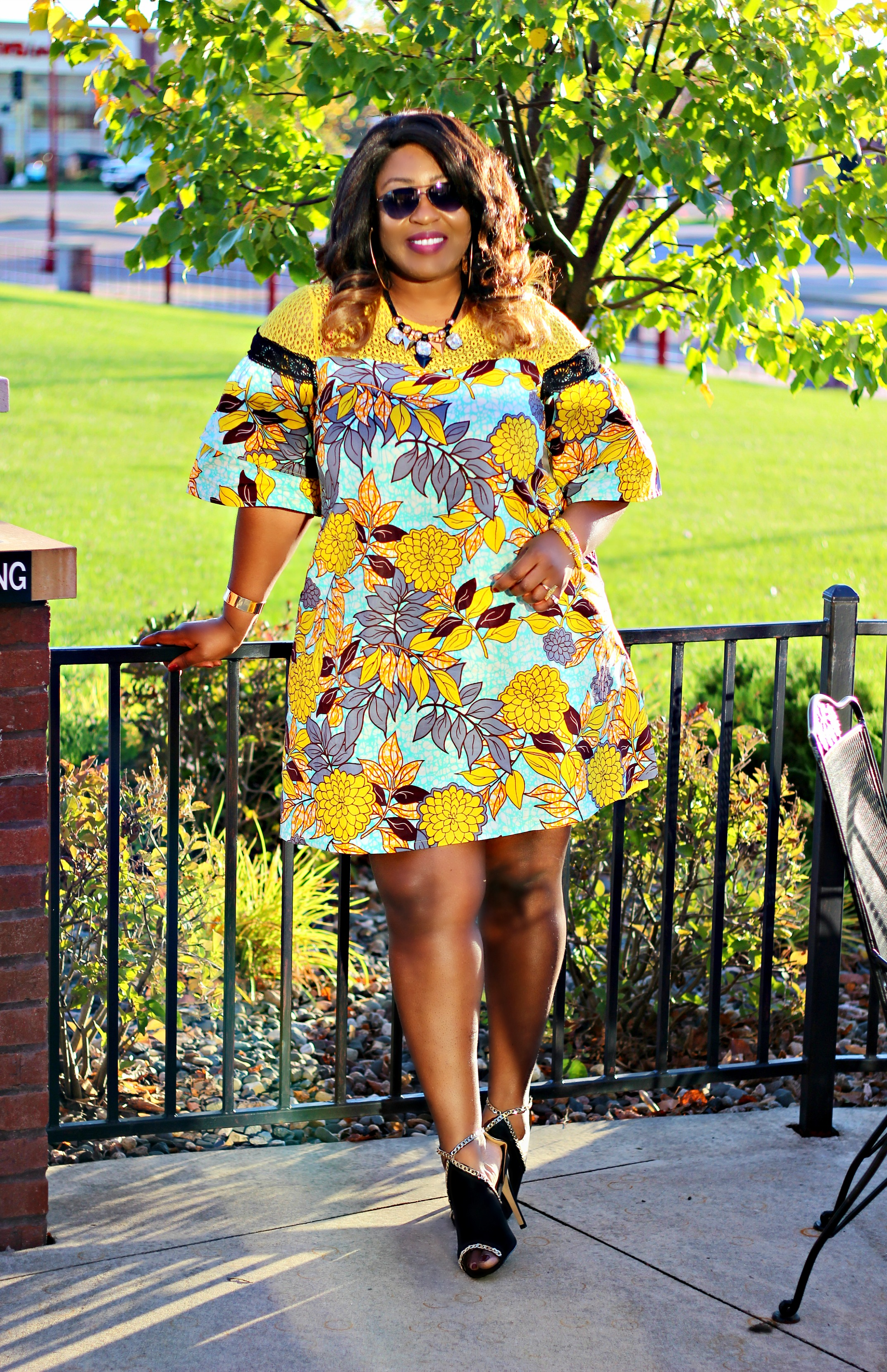 The ankara prints cocktail dress hypnoz glam top black style blogger ombrellifo Images