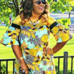The Ankara Prints Cocktail Dress