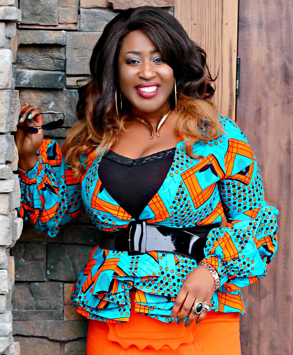 Statement-sleeves-ankara-top