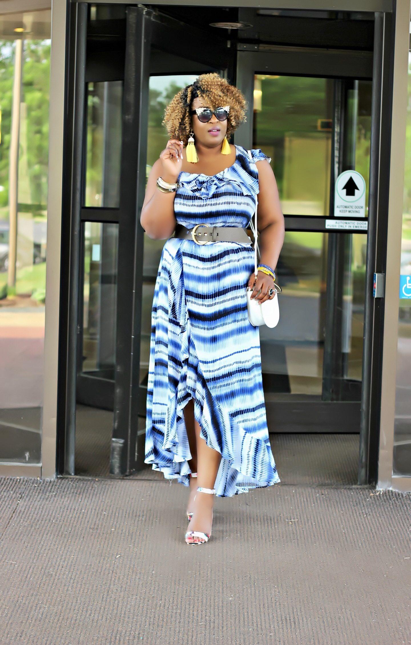 one-shoulder-blue-maxi-dress