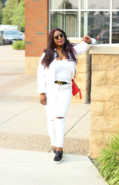Black-beautiful-woman-in-white