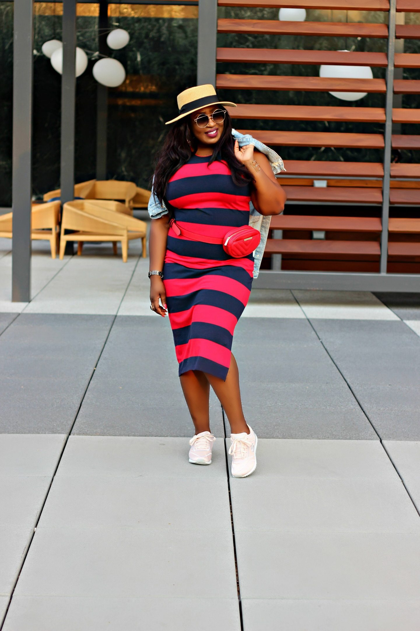Dress-with-sneakers-style