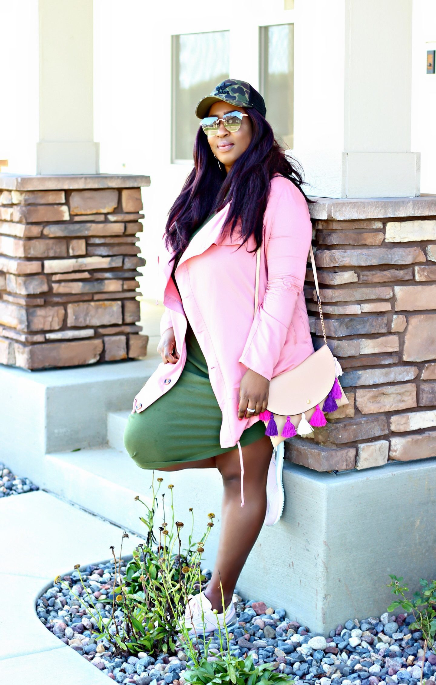 Beautiful-plus-size-black-style-blogger