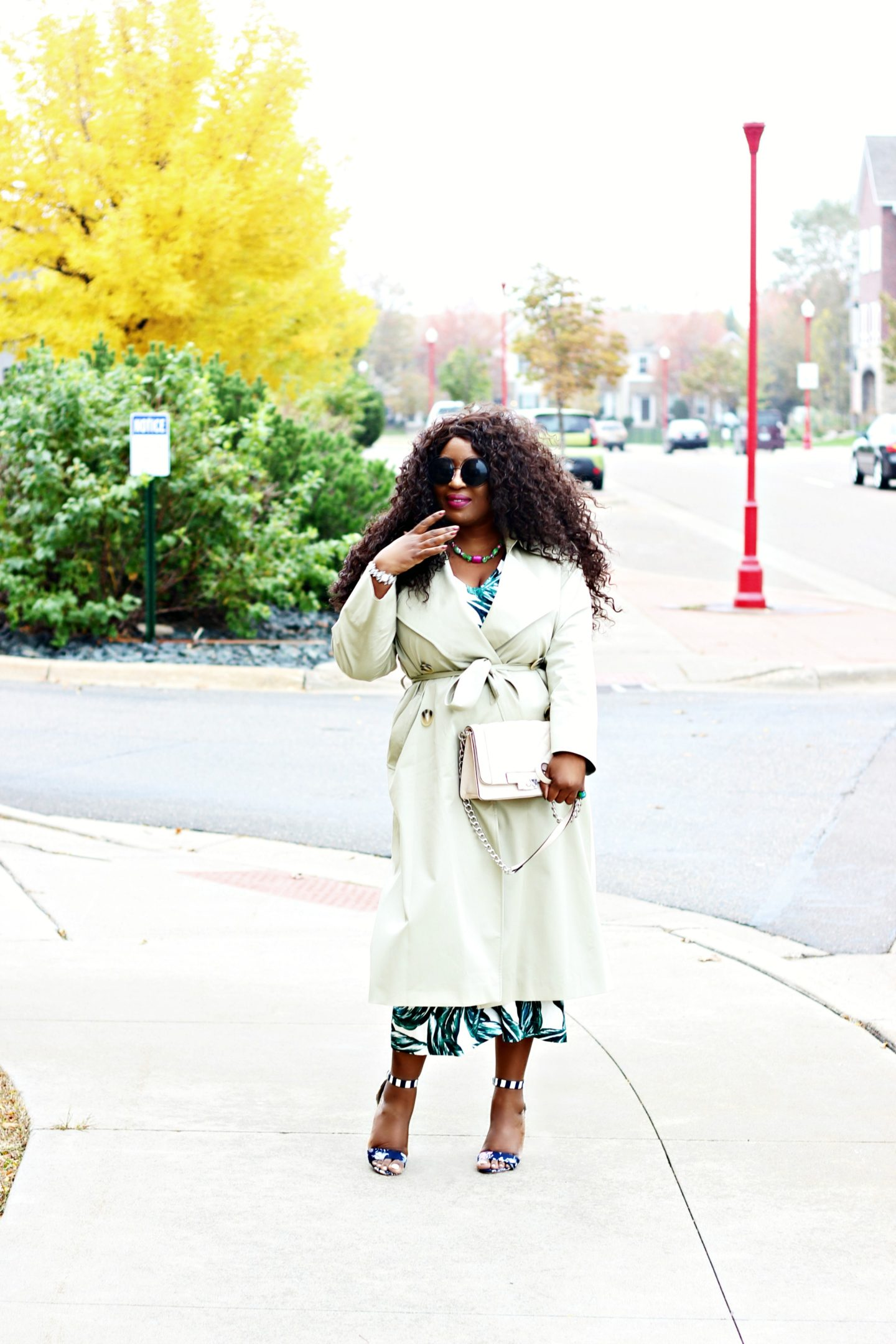 green-jumpsuit-and-trench-coat