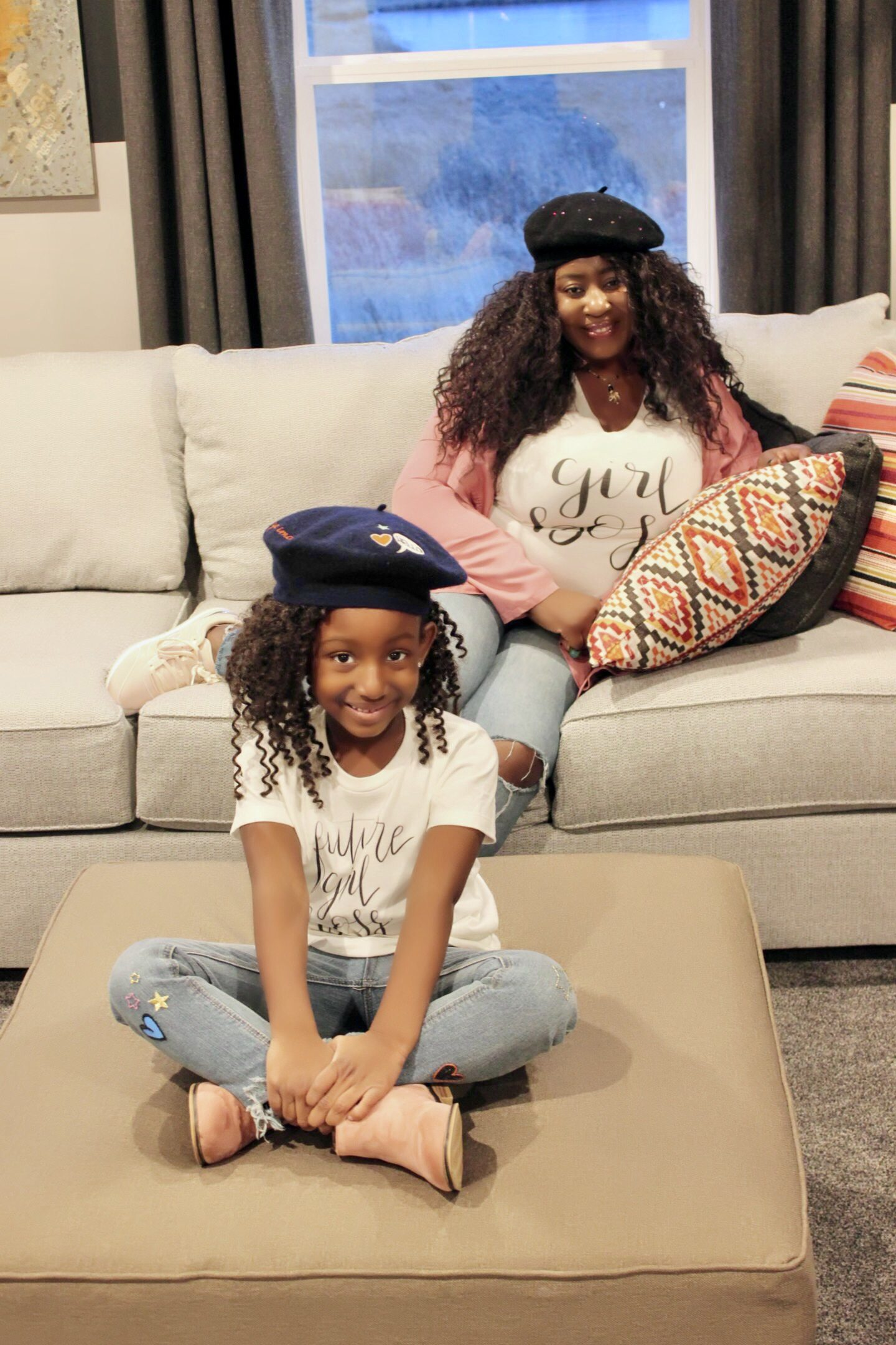 fashion-blogger-and-her-daughter