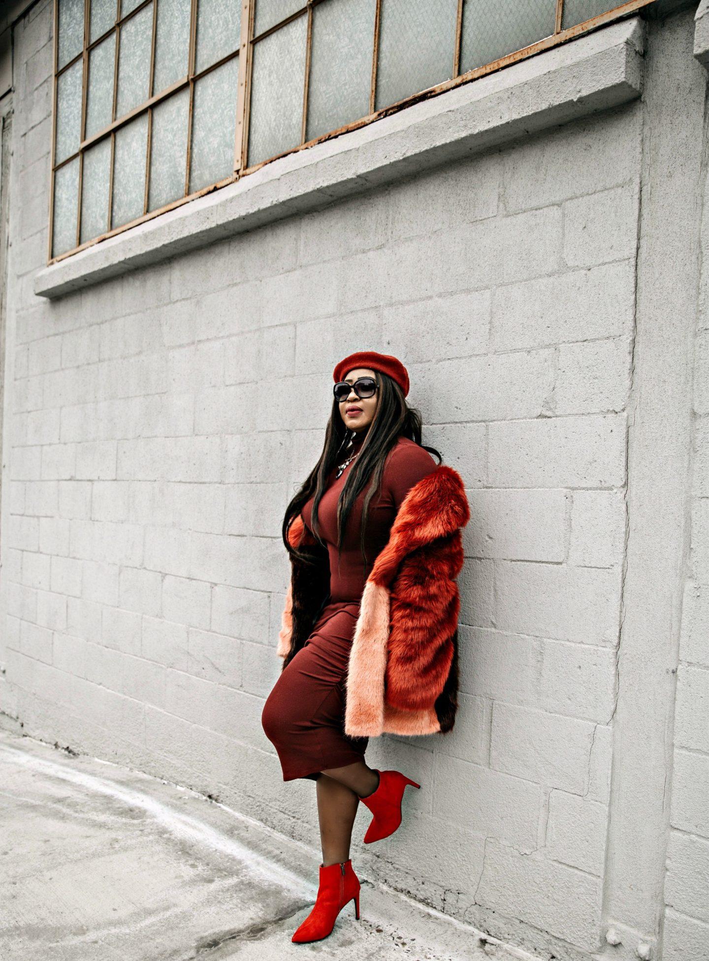 Black-beautiful-fashion blogger