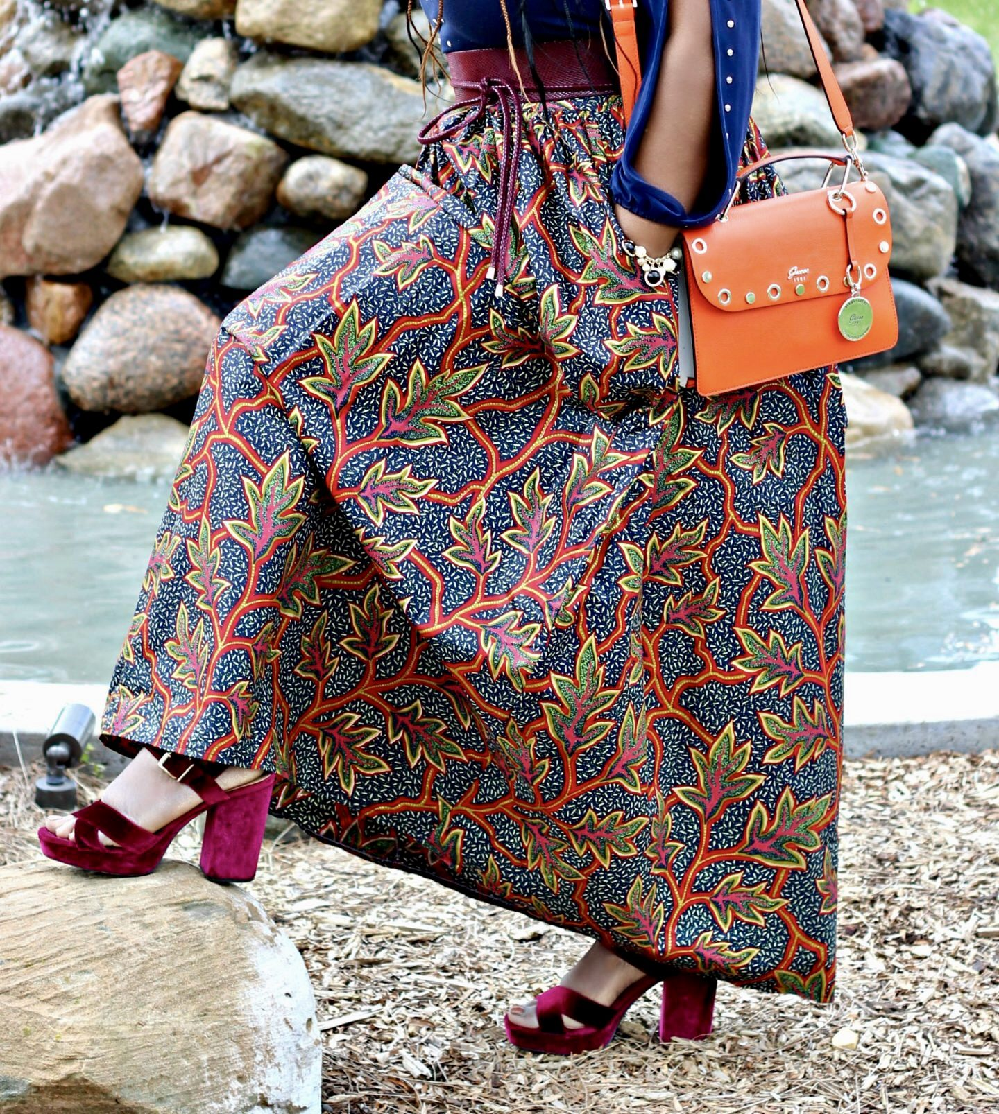 beautiful-african-prints-maxi-skirt