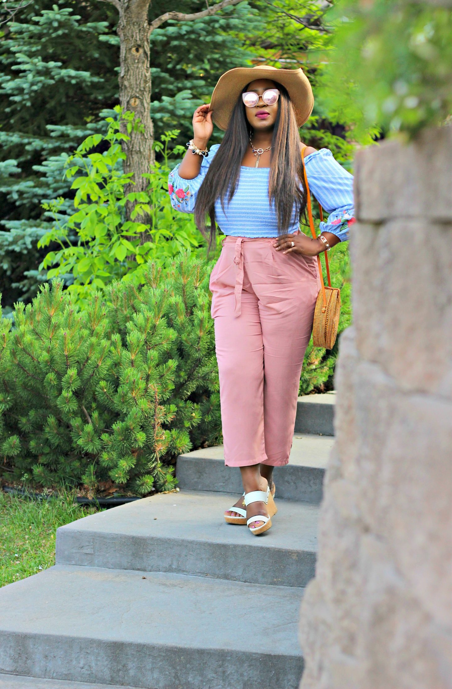 off-the-shoulder-crop-top-chic-casual