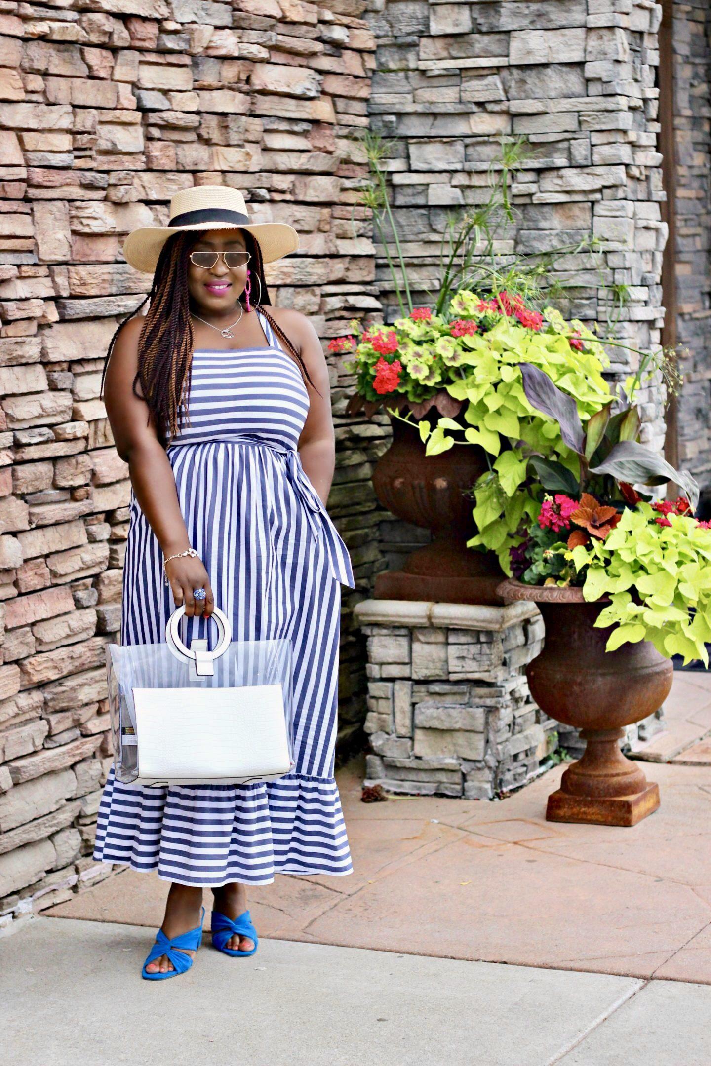 beautiful-stripped-summer-dress