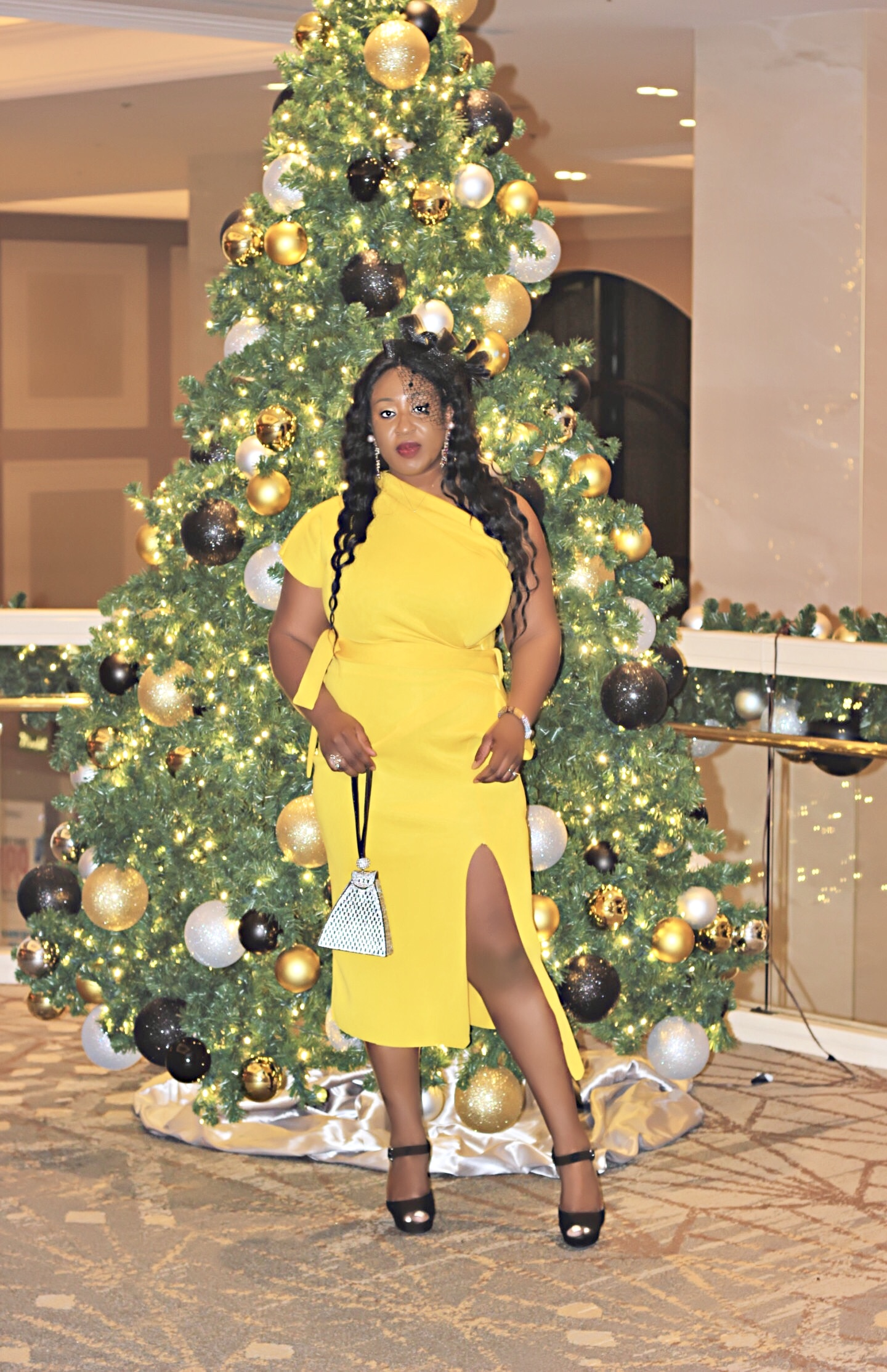 Yellow Dress for the Holidays
