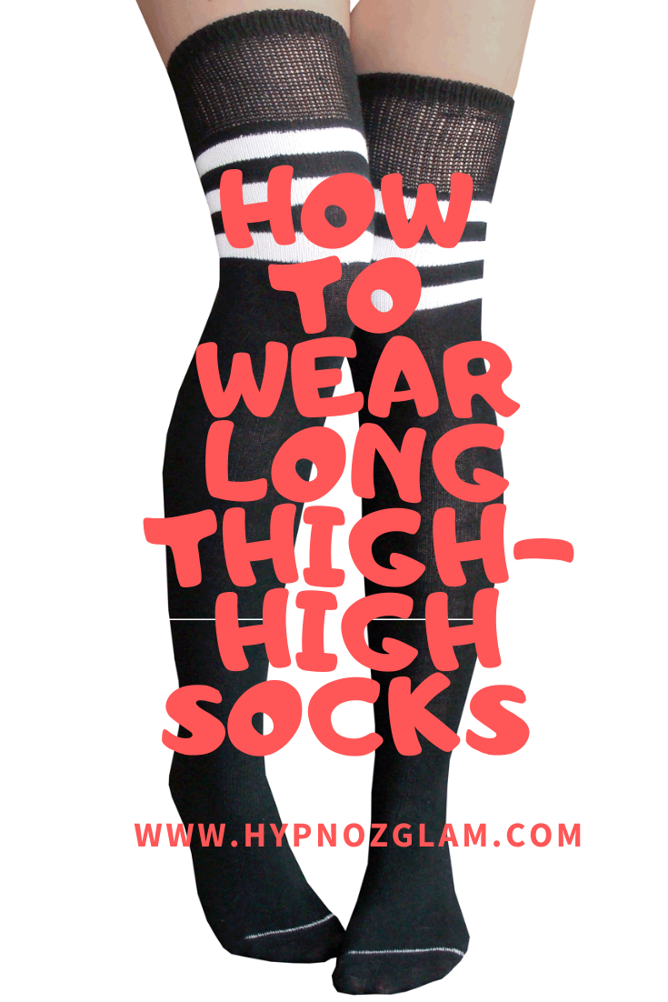 Baby it's cold outside… Wear your Long Thigh-High Socks!