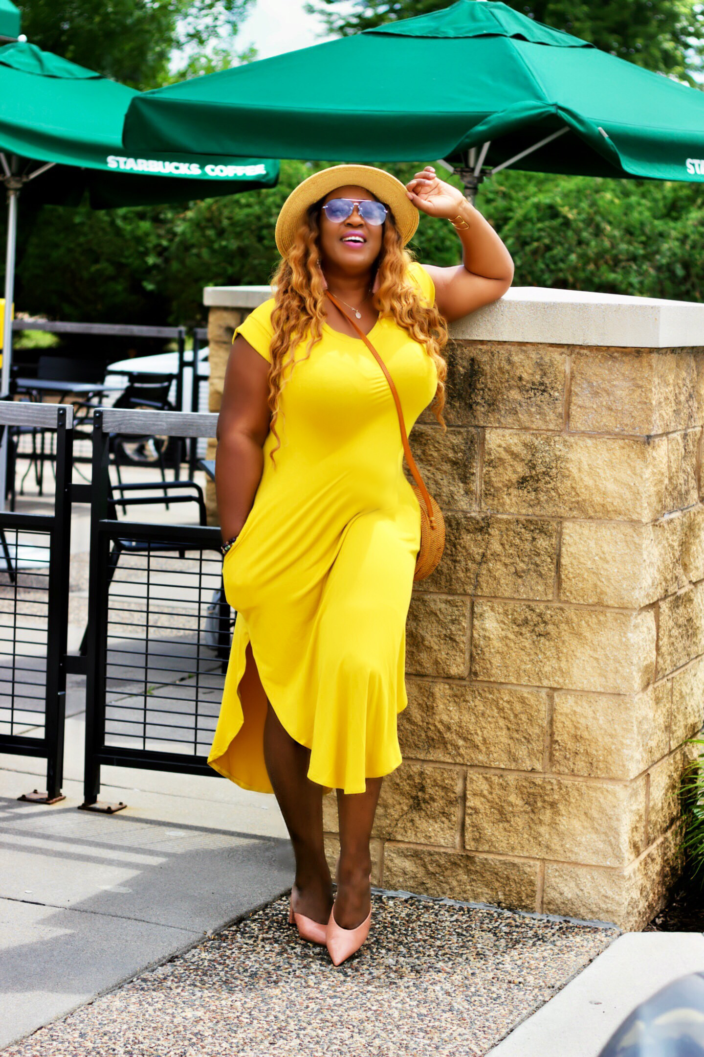 yellow-mustard-dress-fashion-blog
