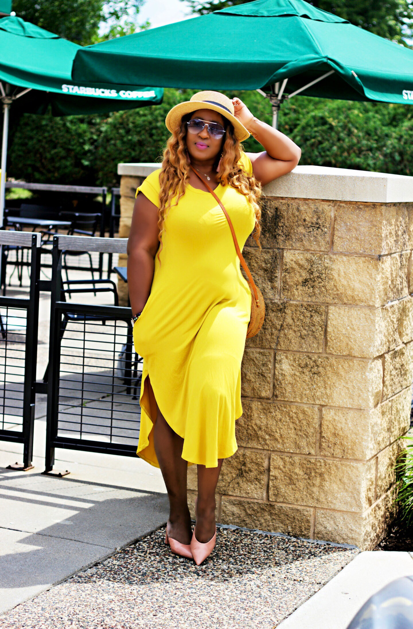 Yellow-midi-dress-clothing-boutique