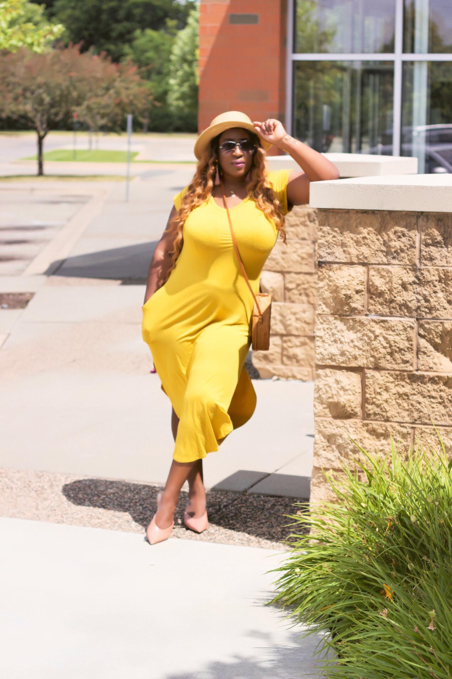 beautiful-yellow-summer-dress-fashion-blog