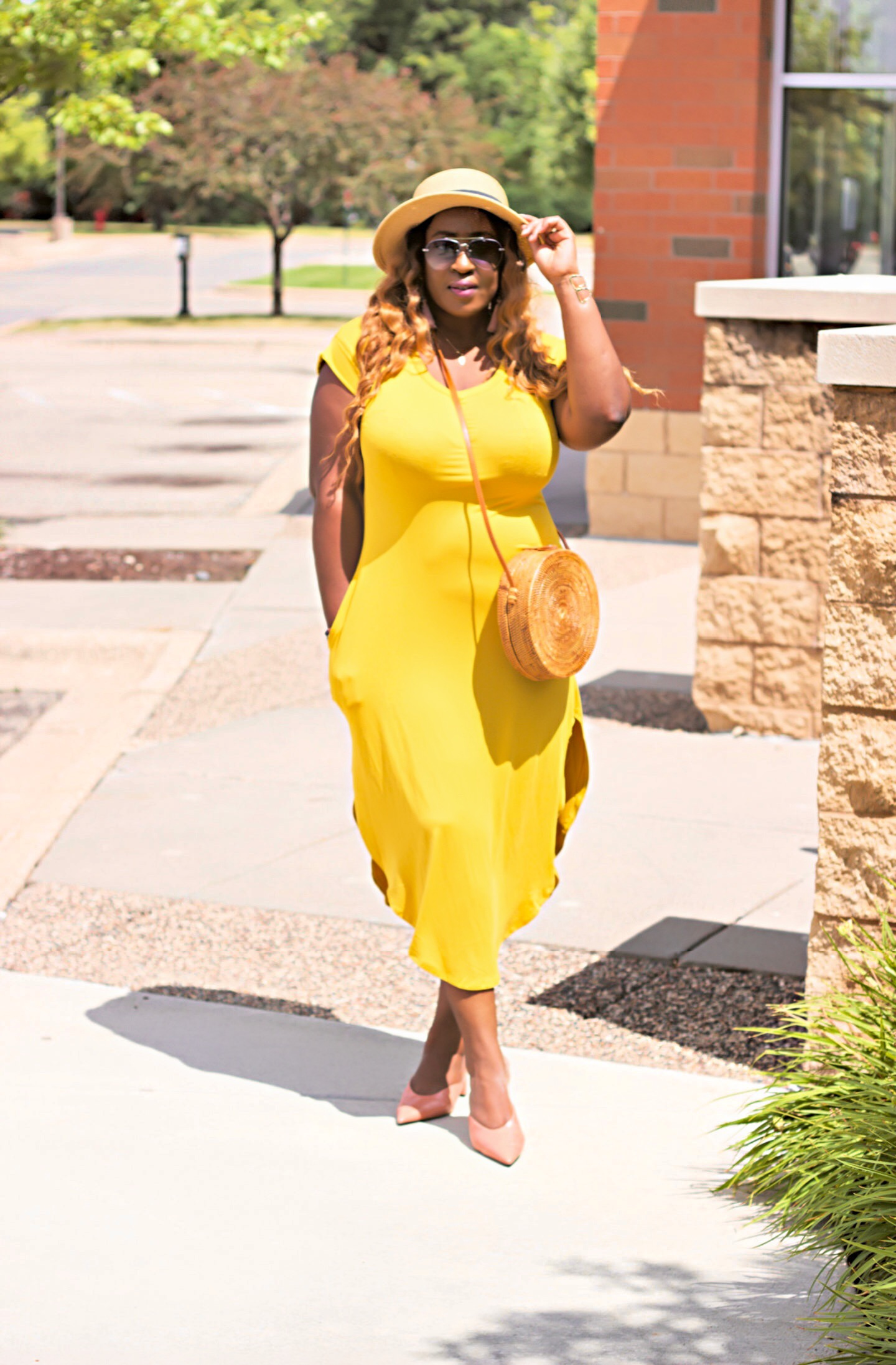 beautiful-yellow-summer-dress