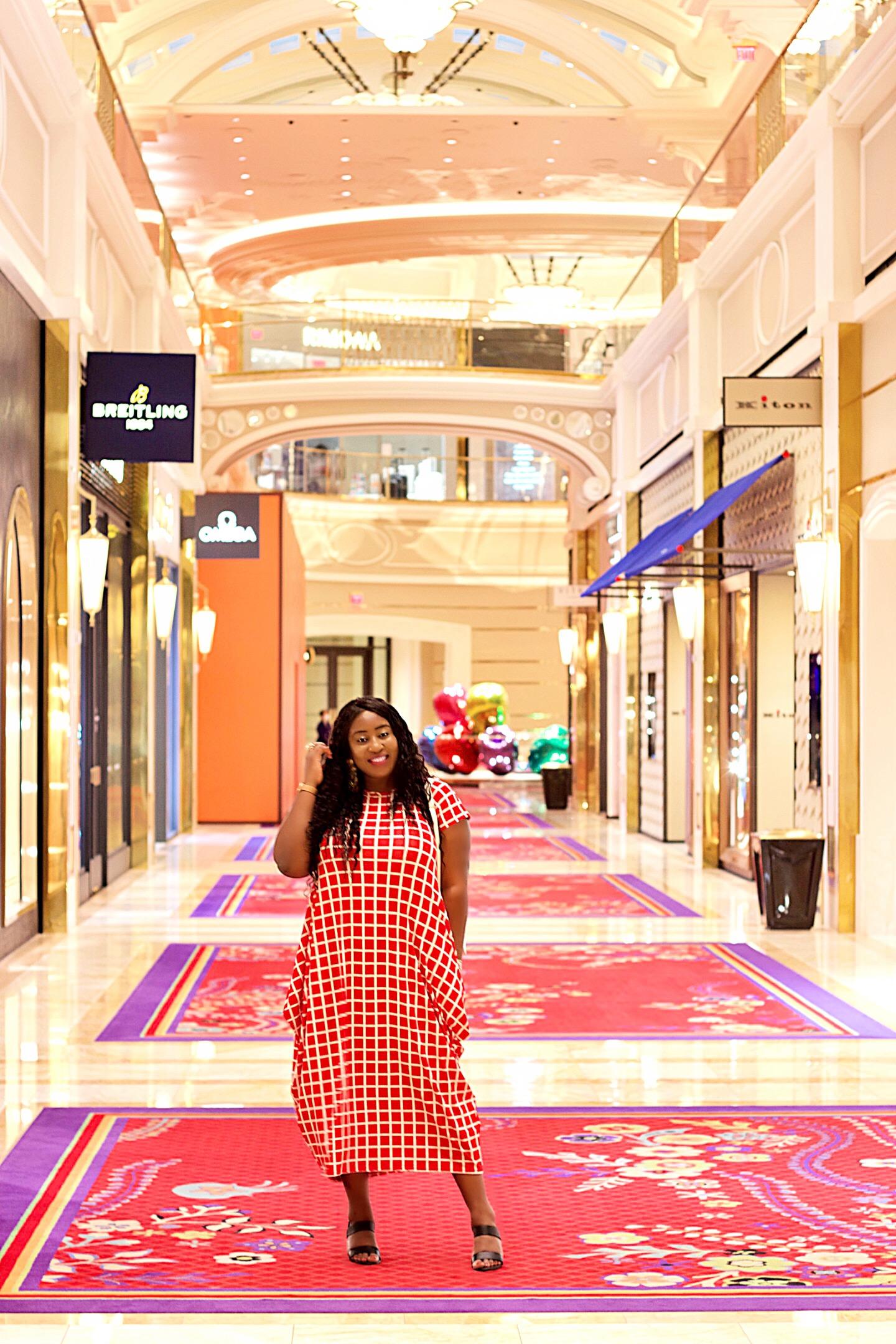 beautiful-black-girl-red-dress-fashion
