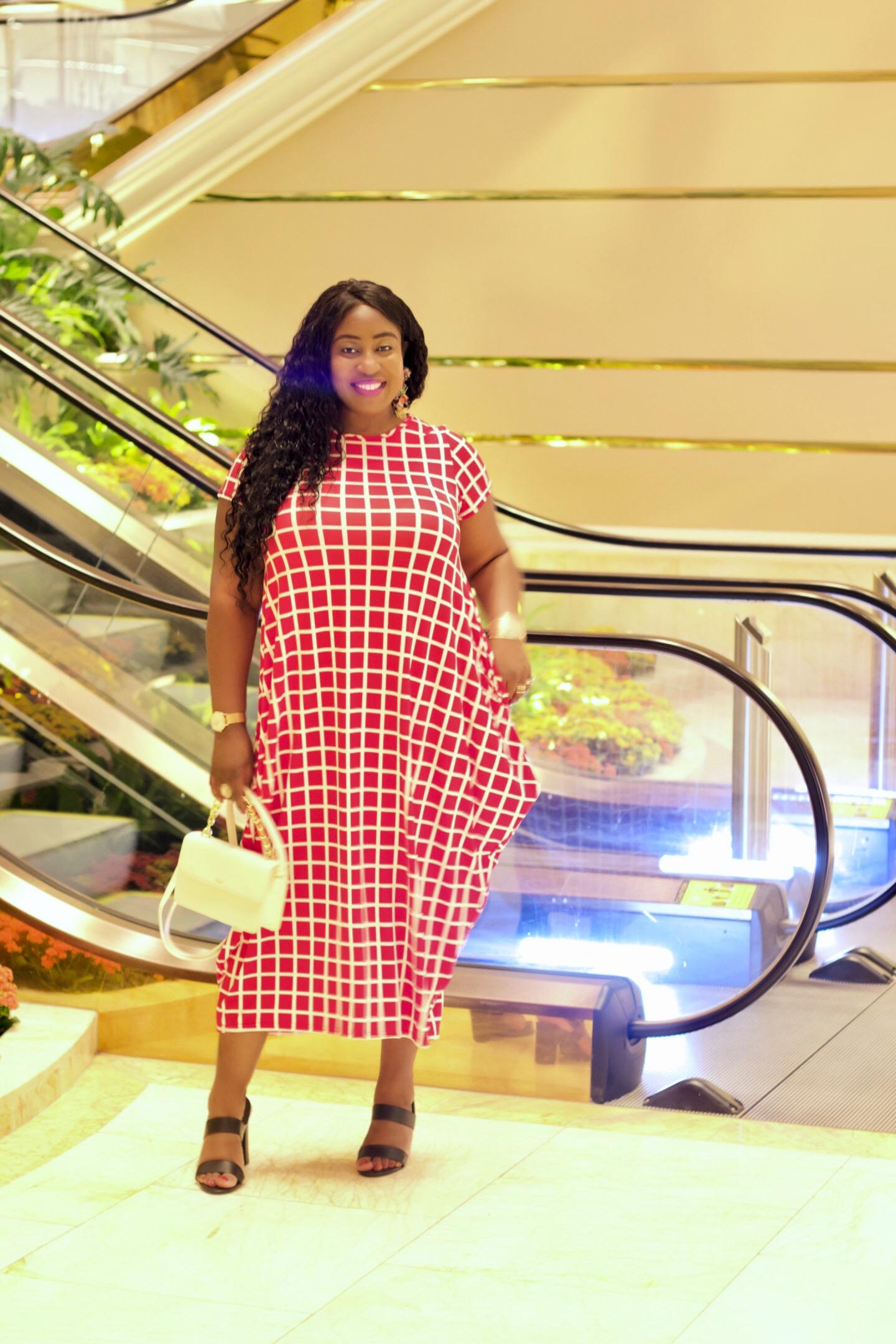 vegas-trip-black-girl-in-red-dress