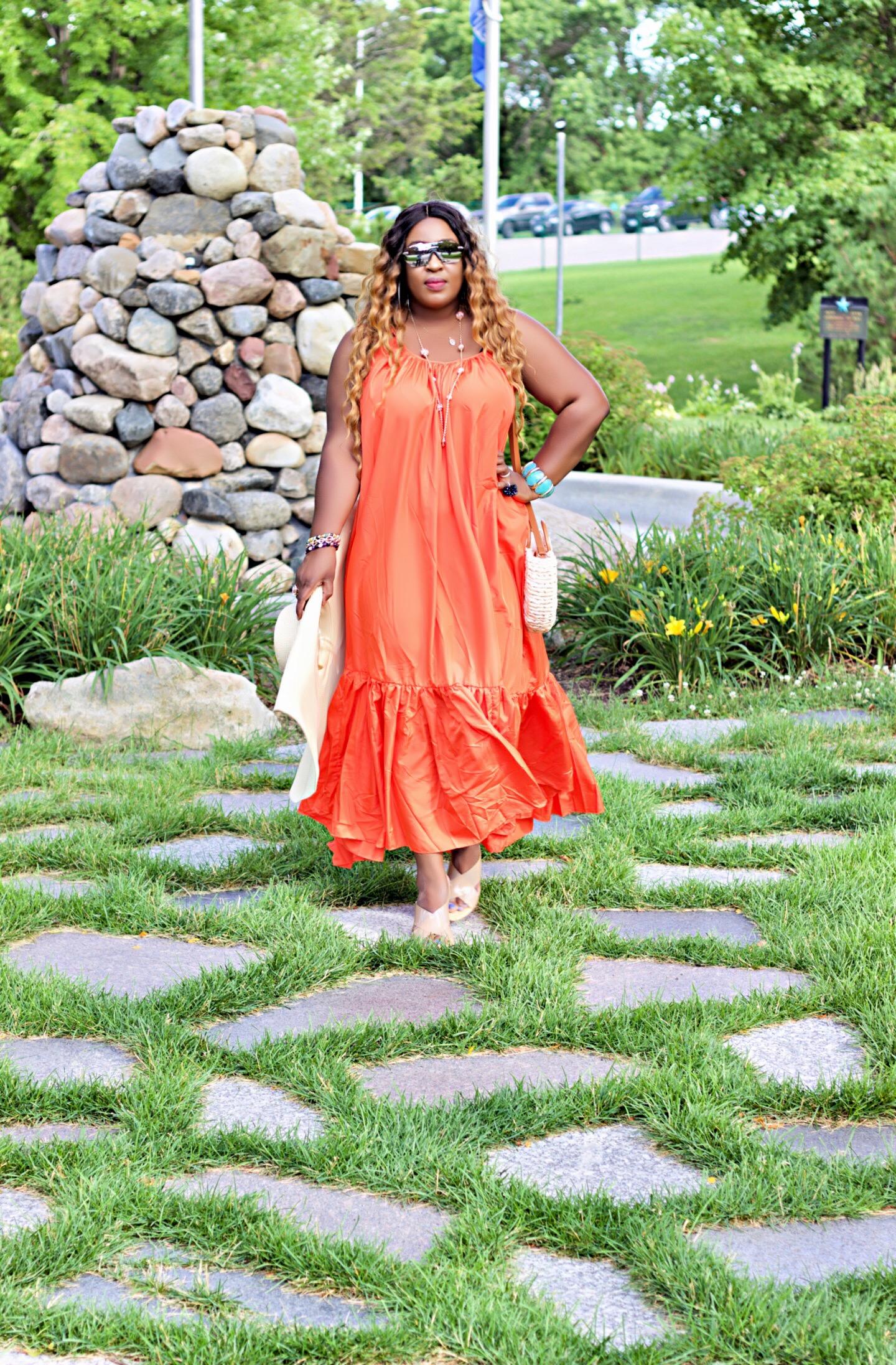 beautiful-orange-maxidress